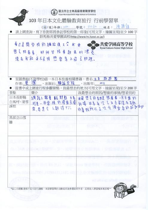 夏俊峰儿子的画可疑_http://ebook.slhs.tp.edu.tw/books/slhs/36/ 103年日本文化體驗教育旅行學生 ...